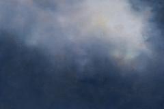 Sky Series IV<br /> Oil on board, 12