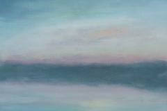 Pastel Sky<br /> Oil on board, 11 1/2
