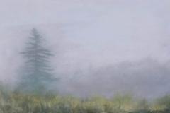 Field In Fog II<br /> Oil on board, 15