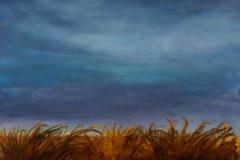 Big Sky II<br /> Oil on paper, 18