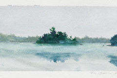 """The Basin<br />On paper, 8 1/4""""X3 1/2"""""""